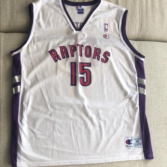 a7cd37a3742 Champion Shirts   Vince Carter Toronto Raptors Jersey Xl   Poshmark